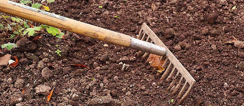 jardinage rateau