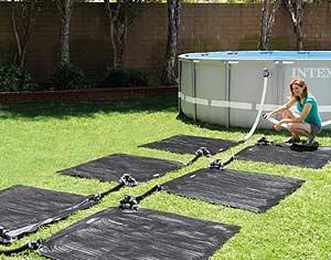 Chaufage solaire pour piscine