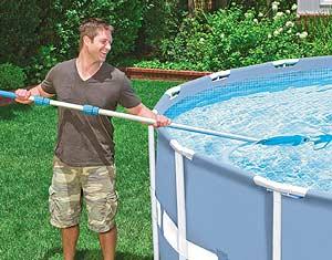 Kit d'entretien pour piscine
