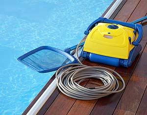 Aspirateur de piscine, robot