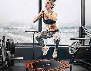 mini trampoline fitness