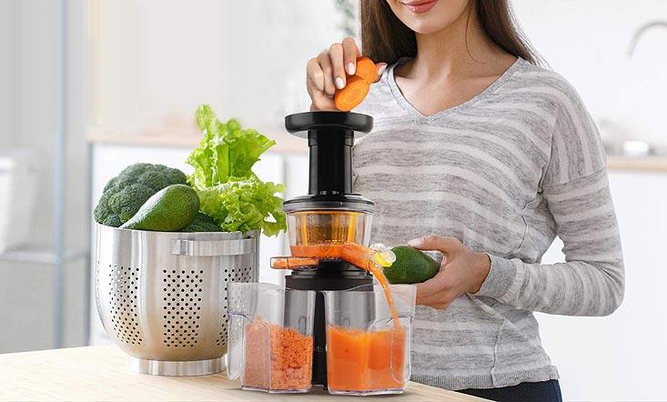 Réaliser ses jus de fruits et légumes à la maison