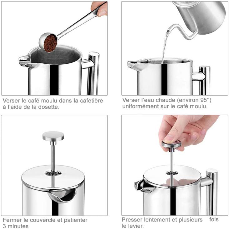 Comment fonctionne la cafetière à piston ?