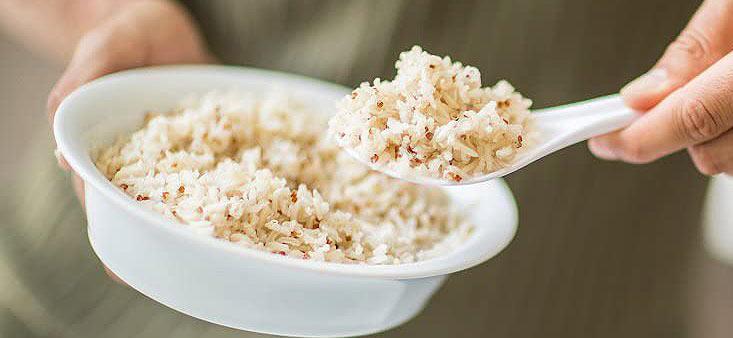 Cuisson du riz avec le cuiseur Russell Hobbs