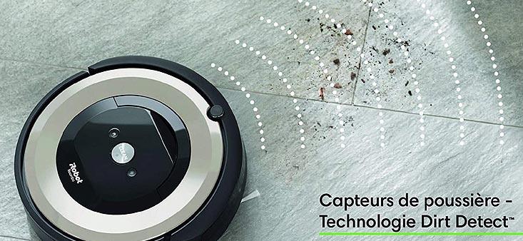 aspirateur-robot iRobot Roomba