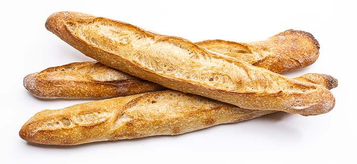 Recette de la baguette de pain