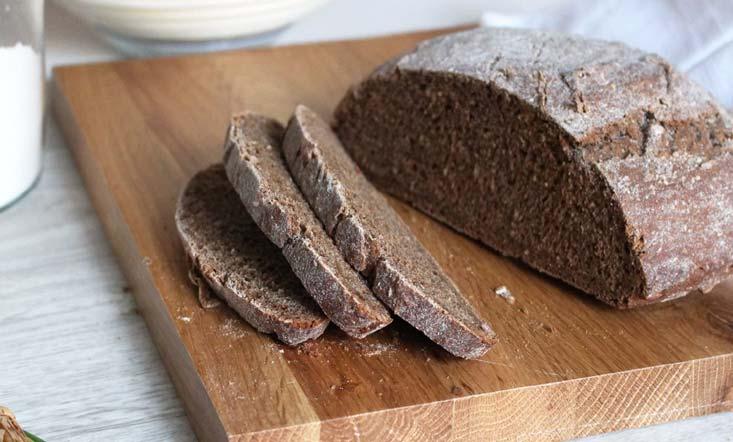 pain fait avec un banneton