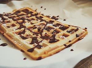 Gaufre chocolat