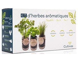 Cultivea le kit prêt à pousser