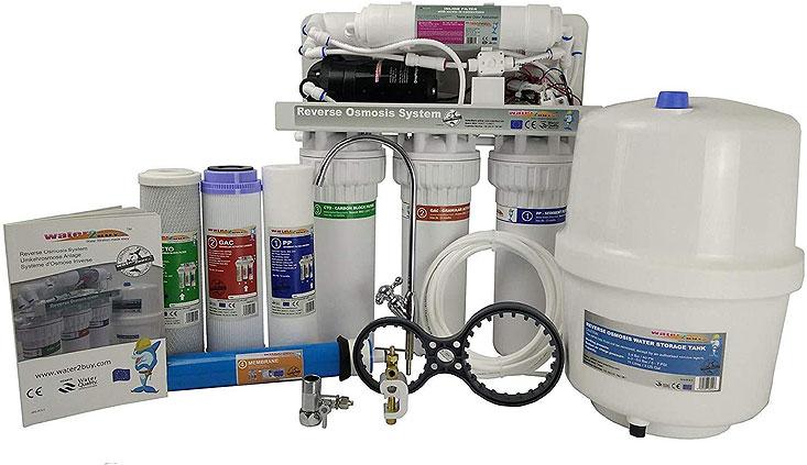 Purifier l'eau avec un osmoseur
