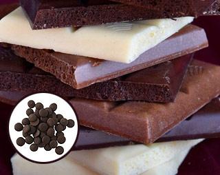 Les types de chocolats à utiliser avec une fontaine