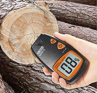 Humidimètre pour vérifier si votre bois est sec