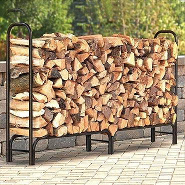 Stockage bûche et bois de chauffage